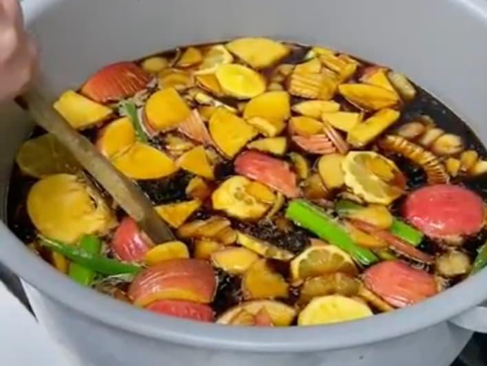 自家製の焼肉のタレ